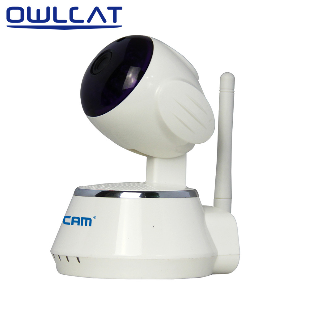 OwlCat Wireless IP Camera Wifi Video Surveillance Security CCTV Network Camera ONVIF IR Night Vision Pan/Tilt Motion Detection 6pcs one set 720p wireless pan tilt wifi ip camera security surveillance cctv network ir night vision kit wifi webcam