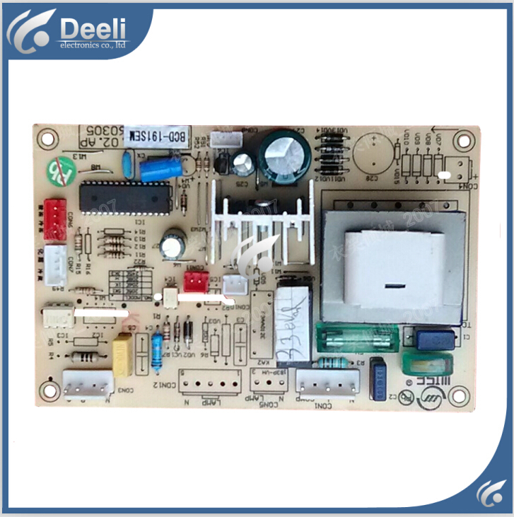 95% new Original good working refrigerator pc board motherboard for bcd-191se on sale server motherboard for se7501wv2 320m scsi raid system board original 95%new well tested working one year warranty