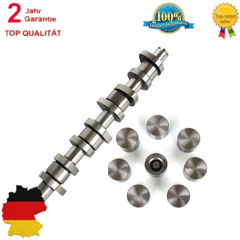 CAMSHAFT KIT FOR AUDI SEAT SKODA 1.9 PD TDI 8 VALVE BXE BKC BRU 038109309A 142603 1100677 1426035 XM216500AA 038109101R es 335 50th anniversary 1963 jazz es 335 semi hollow body electric guitar 5a quilt maple top gold hardware