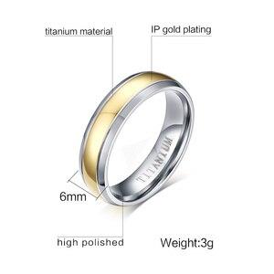Image 5 - 結婚指輪カップルキュービックジルコニアリングセット女性チタンリング男性女性のためのアクセサリー 2019 約束 Godly 宝石