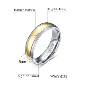 Image 5 - Wedding Rings Couple Cubic Zirconia Ring Set for Women Titanium Ring for Man Women Accessories 2019 Promise Godly Jewels