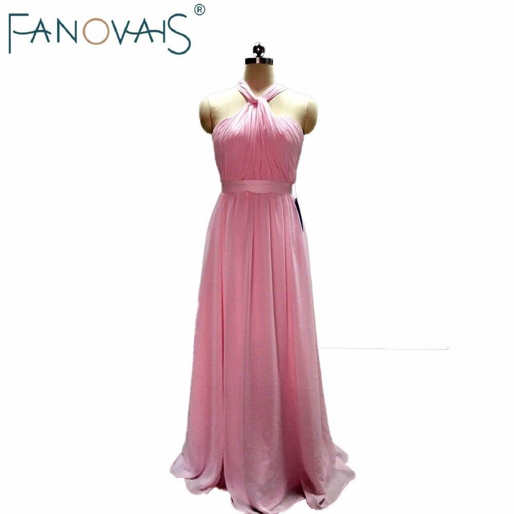 Baratos Pink Sweetheart Dama de Honor Vestidos Fuera del hombro ...