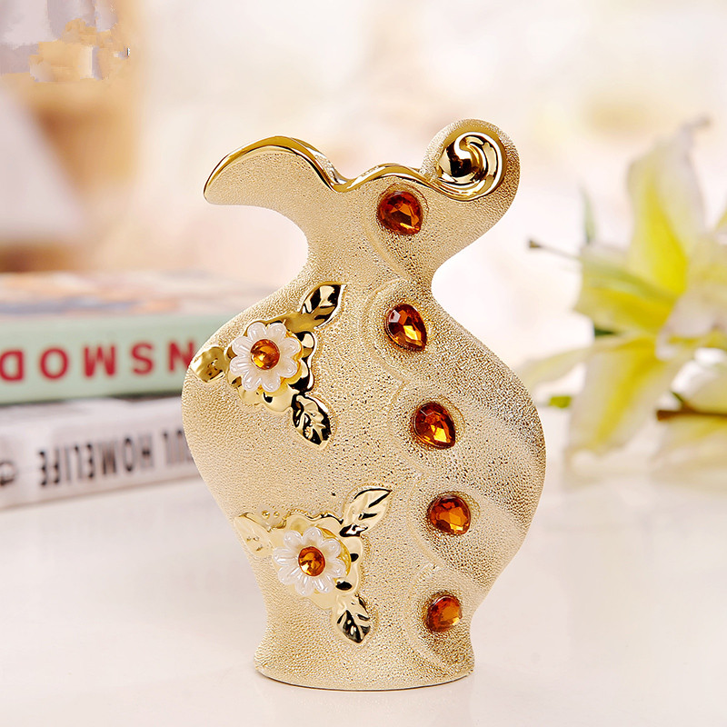 achetez en gros or fleur vase en ligne des grossistes or fleur vase chinois. Black Bedroom Furniture Sets. Home Design Ideas