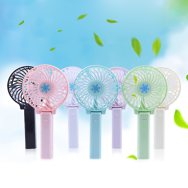 Mini Foldable Handheld Fan Fresh Color Cooling Machine 3 Speed Adjustable Electric Fan Portable USB Charging Air CoolerMini Foldable Handheld Fan Fresh Color Cooling Machine 3 Speed Adjustable Electric Fan Portable USB Charging Air Cooler