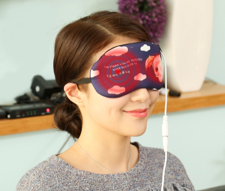 Tempering timing steam heat massage sleep Goggles sleepping to Relieve eye fatigue Massage Mask with USBTempering timing steam heat massage sleep Goggles sleepping to Relieve eye fatigue Massage Mask with USB