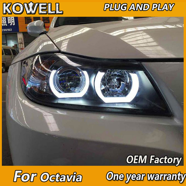 Kowell Car Headlights For Bmw E90 Headlamp 318i 320i 325i Headlight
