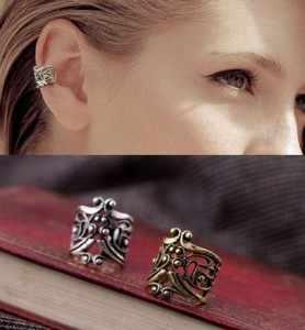 Europa i stany zjednoczone moda proste w stylu Vintage Gothic bez otworu na ucho kolczyk kolczyki perła Ear cuff klip na kolczyki kobiety