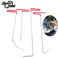 Super PDR Paintless Dent Repair Tools Kit Auto Hook Tools Push Rods For Cars Hand Tool
