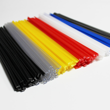 PP PPR ABS PE Black/Blue/Yellow/Red/White plastic welding rods car bumper repair floor solder soldering sticks electrodes