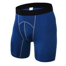 Спортивные дышащие быстросохнущие шорты для тренировок, мужские Компрессионные спортивные шорты для фитнеса, бега, фитнеса