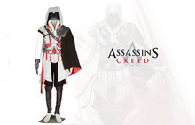 Assassin's Creed 2 Ezio Cosplay Costume Tailor Made Full Set