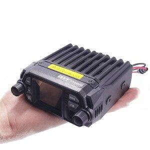 Image 4 - QYT KT 8900D الملونة جهاز مرسل ومستقبل صغير رباعية عرض مطورة من KT 8900R 25W ثنائي الموجات UHF/VHF راديو السيارة المتنقلة KT 8900D