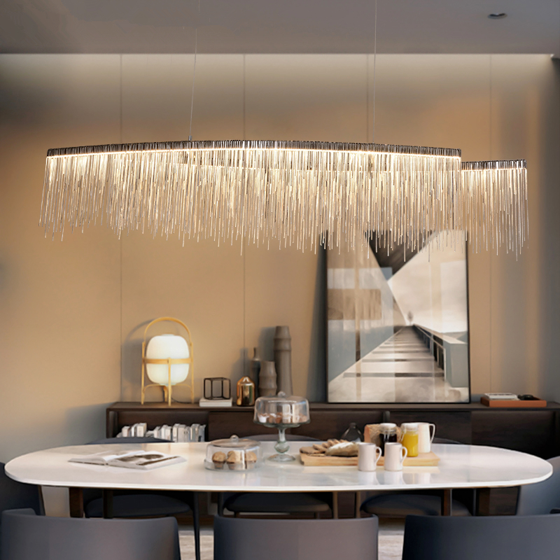 Postmodern Chandelier Novelty Fixtures Nordic Hanging Lights Deco Pendant Lamps Living Room Lighting LED Suspension Luminaires