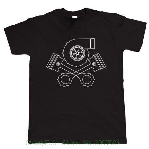 Turbo Skull And Crossbones , Mens Tuning T Shirt T Shits Printing Short Sleeve Casual O-neck Cotton