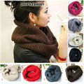 New hot! Unisex Winter knitting Wool Collar Neck Warmer Scarf Shawl Freeshipping