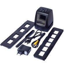 REDAMIGO 5MP 10MP 35 millimetri Portable scanner Foto Scaner Negativo Pellicola Diapositiva Visualizzatore scanner USB MSDC Pellicola in bianco e nero 718U