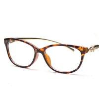 Retro men women round mirror reading glasses for Harry Potter metal frame glasses plain mirror personalized KMF001-020
