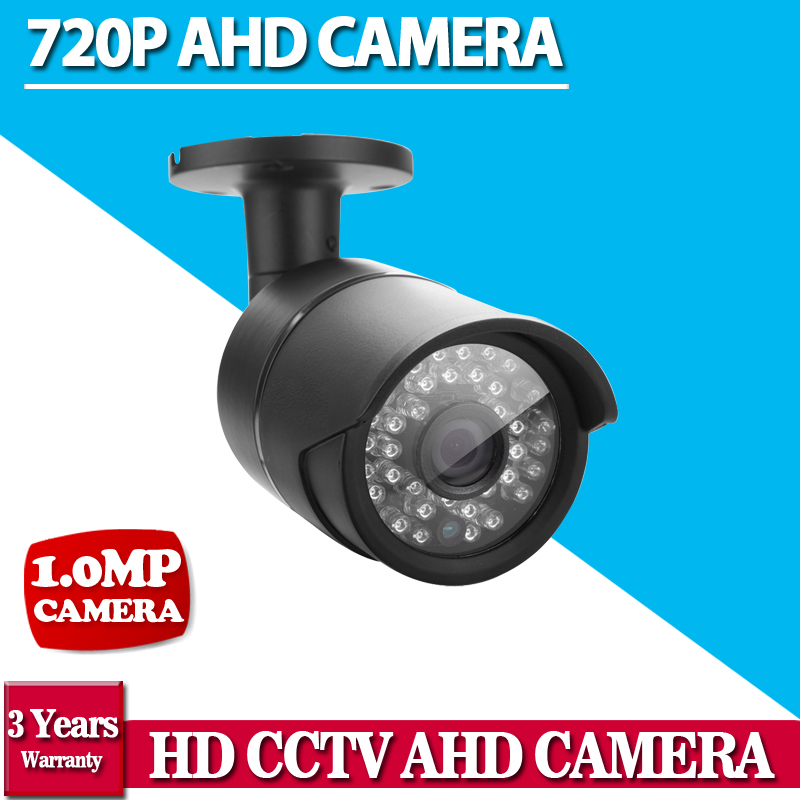 Bullet camera HD AHD security Camera  720p 1.0mp 2000TVL 2000TVL Camera AHD 960P 720p AHD surveillance Camera IR Cut filter экшен камера bullet hd