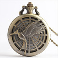 Movie The Hunger Games Inspired Antique Pocket Watch Vintage Pendant Cosplay Collectible #3
