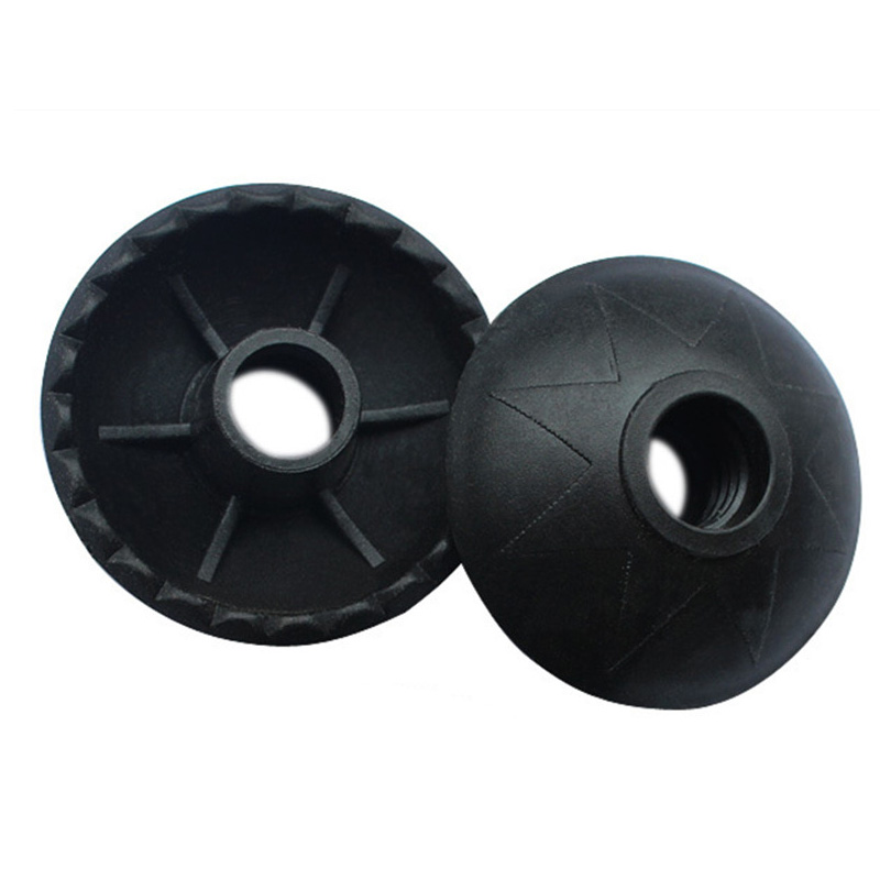 2pcs / lot cesta de barro de plástico extraíble para bastones de trekking, bastones, bastones de raquetas de nieve, accesorios para bastones de bastón de senderismo