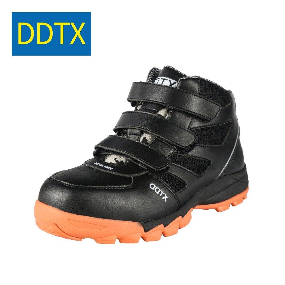 6249ef9fec99c DDTX Composite Toe Safety boots Work Shoes Men Light Anti-Smashing Puncture  Proof Electrical Insulation Footwear Black
