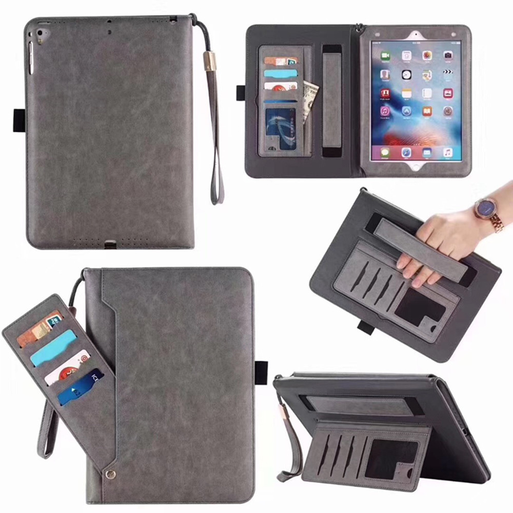 ipad pro 10.5 case leather Wallet Case Card Slot Money Holder Magnetic Luxury tablet Stand Leather Cover for ipad A1701 A1709 z7