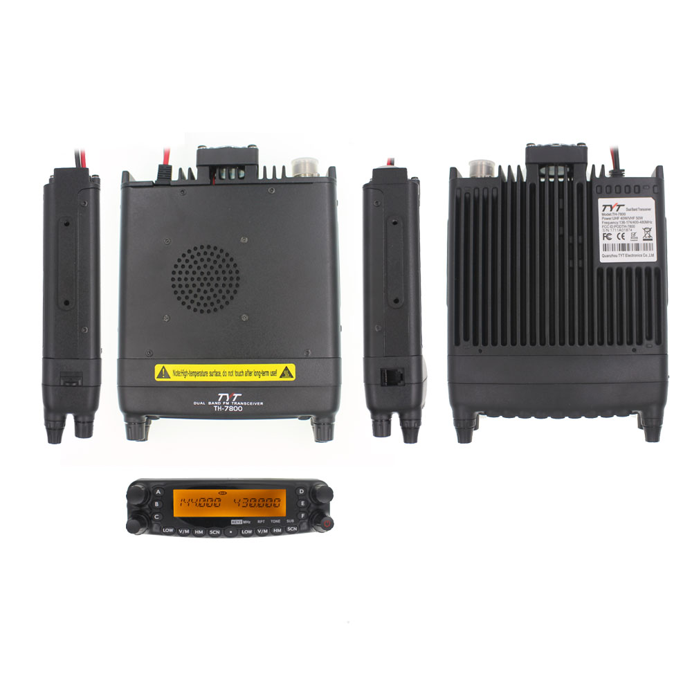 Image 5 - TYT TH 9800 Mobile Transceiver Automotive Radio Station 50W 809CH Repeater Scrambler Quad Band VHF UHF Car Truck Radio TH9800-in Walkie Talkie from Cellphones & Telecommunications