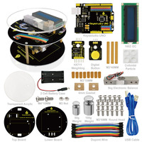 Free Shipping Keyestuido DIY Electronic Scale Starter Based On A Rduino UNO R3 64 Page Book