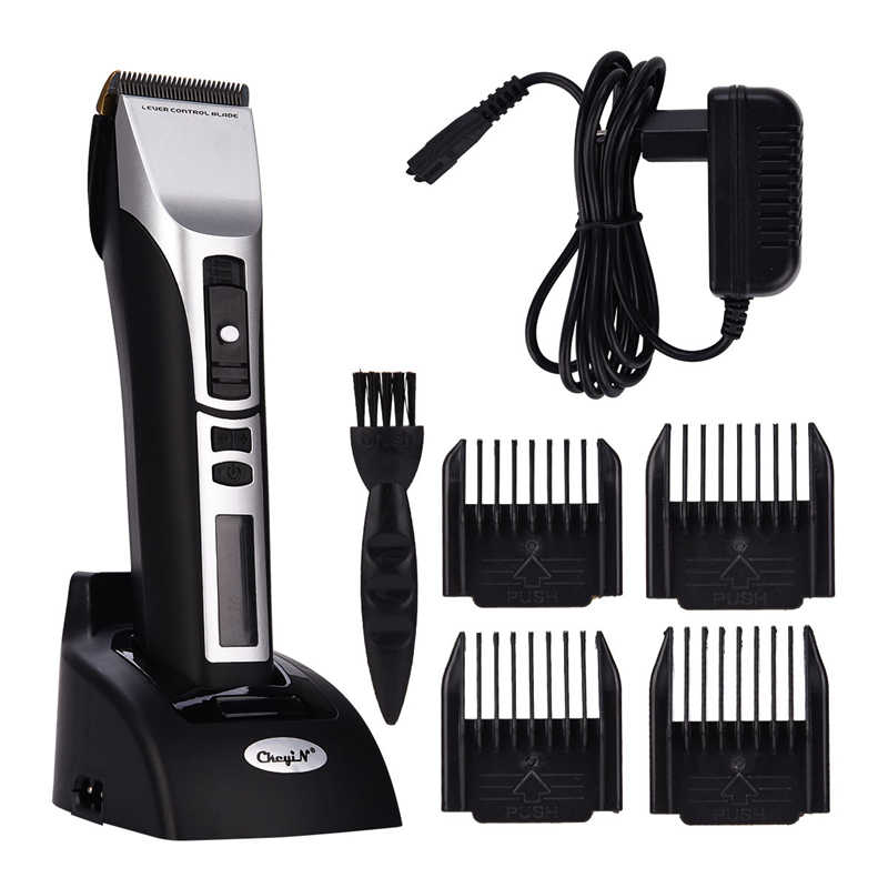Hair Clipper Electric Hair Trimmer professional Hair Cutter Machine Men Beard Trimmer Electric Shaver LCD Display Haircut