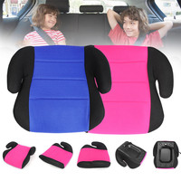Children Seat Booster Baby Safe Car Seat Booster Pad Pink/Blue Suitable For Children Kids Aged 3 12 Safe Riding Heightening Pad