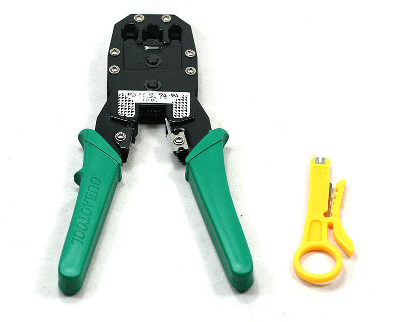 multi tool rj45 rj11 wire cable crimper crimp pc network hand tools herramientas in networking. Black Bedroom Furniture Sets. Home Design Ideas