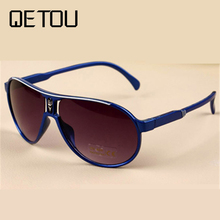 QETOU New Design Classic Infant Baby Kids Sunglasses Children Safety Coating Glasses Sun UV 400 Fashion Shades oculos de sol