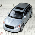 Brand New 1/34 Scae Pull Back Car Toys Dodge Caliber Silver Diecast Metal Car Model Toy For Gift/Kids/Children -Free Shipping