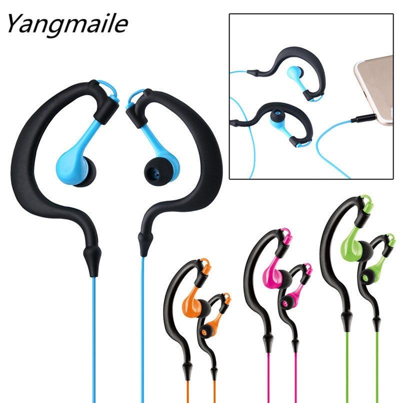 Yangmaile Exercise High-Quality HIFI Handfree Gym Headset Sweat Resistant Earphone H1TY0