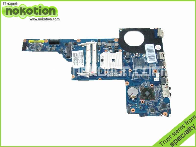 NOKOTION Laptop Motherboard For HP Pavilion G6 G6-1000 649288-001 218-0755046 DDR3 Mother Board Free Shipping