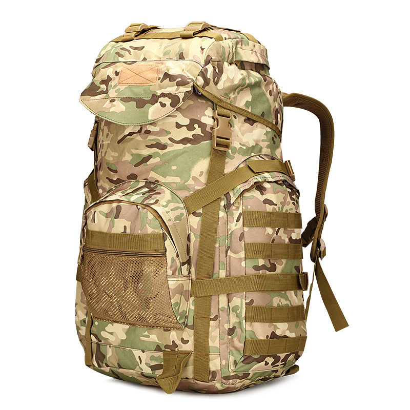 2018 Hot 50L Men Military Backpack Large Capacity Women Mountaineering Backpack Waterproof Camouflage Big Travel Backpacks Bag