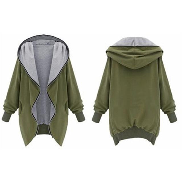 2018 mùa thu và mùa đông mới kích thước lớn phụ nữ của phần dài dài tay áo khoác hoang dã bóng chày lỏng áo gió áo khoác nữ