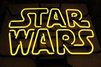 Oferta Personalizado Star Wars vidrio señal de luz de neón cerveza Bar
