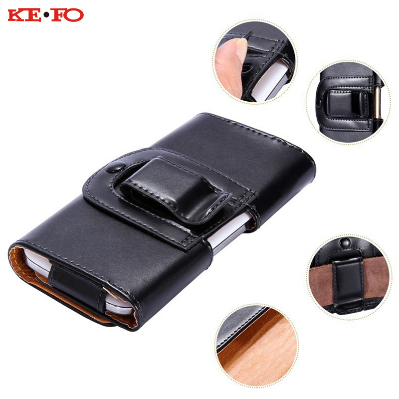 Belt Clip Holster Leather Mobile Phone Cases Pouch For Xiaomi Redmi Note 4 / Xiaomi Hongmi Note 1 For Smartphone case cover