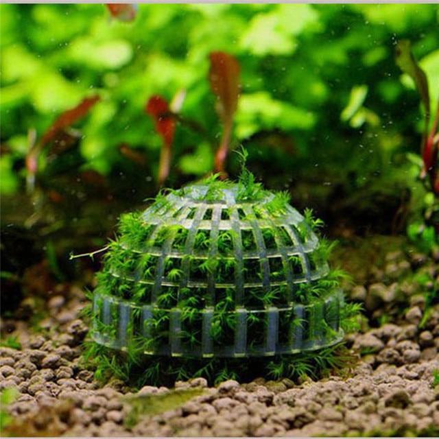 Decorative Moss Balls Magnificent Aliexpress Buy 48cm Plastic Aquarium Fish Tank Media Moss Ball