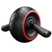 Fitness Vücut Geliştirme Ekipmanları Karın Tekerlek Yuvarlak Ince Bel Silindir Dilsiz Egzersiz Ekipmanları Açık Ev için Ab Makaralar