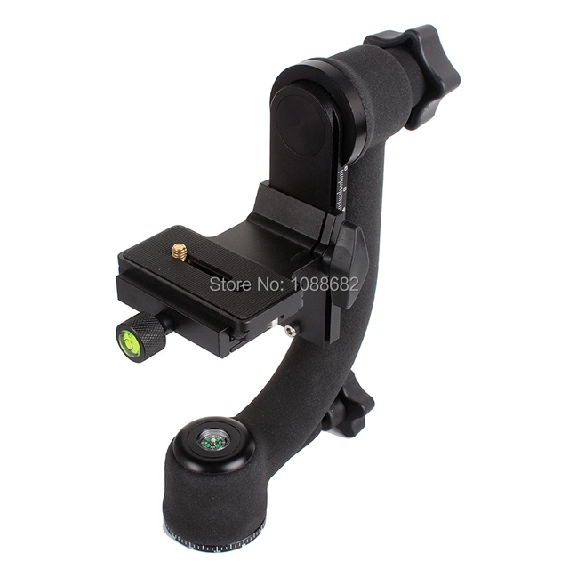 Head 360 Degree Panorama Tripod Head Aluminum alloy with Quick Release Plate for DSLR Camera Telephoto Lens Loading 20kg