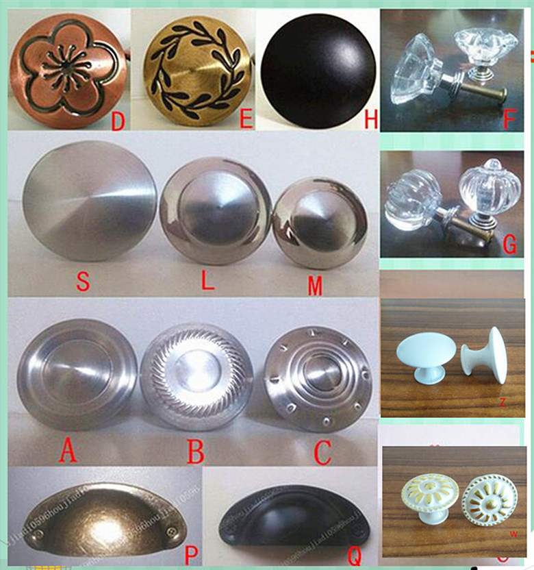 variety style Stainless steel Door Drawer Cabinet Wardrobe Pull Handle Knobs furniture Hardware handle Wholesale free shipping paint the door handle continental jade drawer wardrobe cabinet hardware wholesale