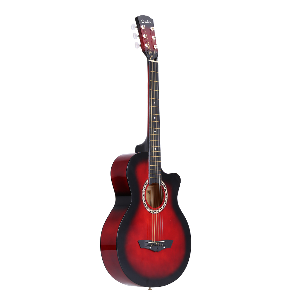 buy 38 acoustic folk 6 string guitar for beginners students gift from reliable. Black Bedroom Furniture Sets. Home Design Ideas