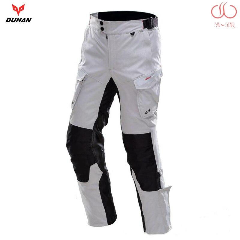 Duhan Moto imperméable pantalon MOTO course pantalon Moto maille pantalon PD201A ajouté professionnel imperméable couche SWX MOTO