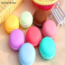New Hot New Fashion 1PC 10 x 5 cm Earphone SD Card Cute Macarons Bag Big Storage Box Case Carrying Pouch Vovotrade Hot 2017(China)