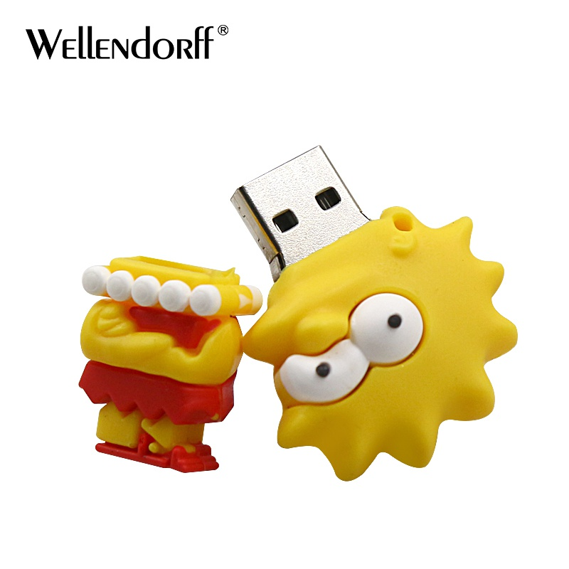 Usb Flash Drives Efficient Jaster Hot Sale Cartoon Cute Monkey Usb Flash Drive 4gb 8gb 16gb Pendrive Usb Stick 32gb 64gb External Memory Storage Pen Drive Available In Various Designs And Specifications For Your Selection Computer & Office