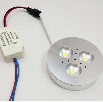 Możliwość przyciemniania LED typu downlight 3W 4W Spot LED typu downlight możliwość przyciemniania DC12V LED oprawa wpuszczana punktowa biały dom tanie i dobre opinie led downlight 12 v MOTION 5000HOURS ALLOY HAILEEYOUNG