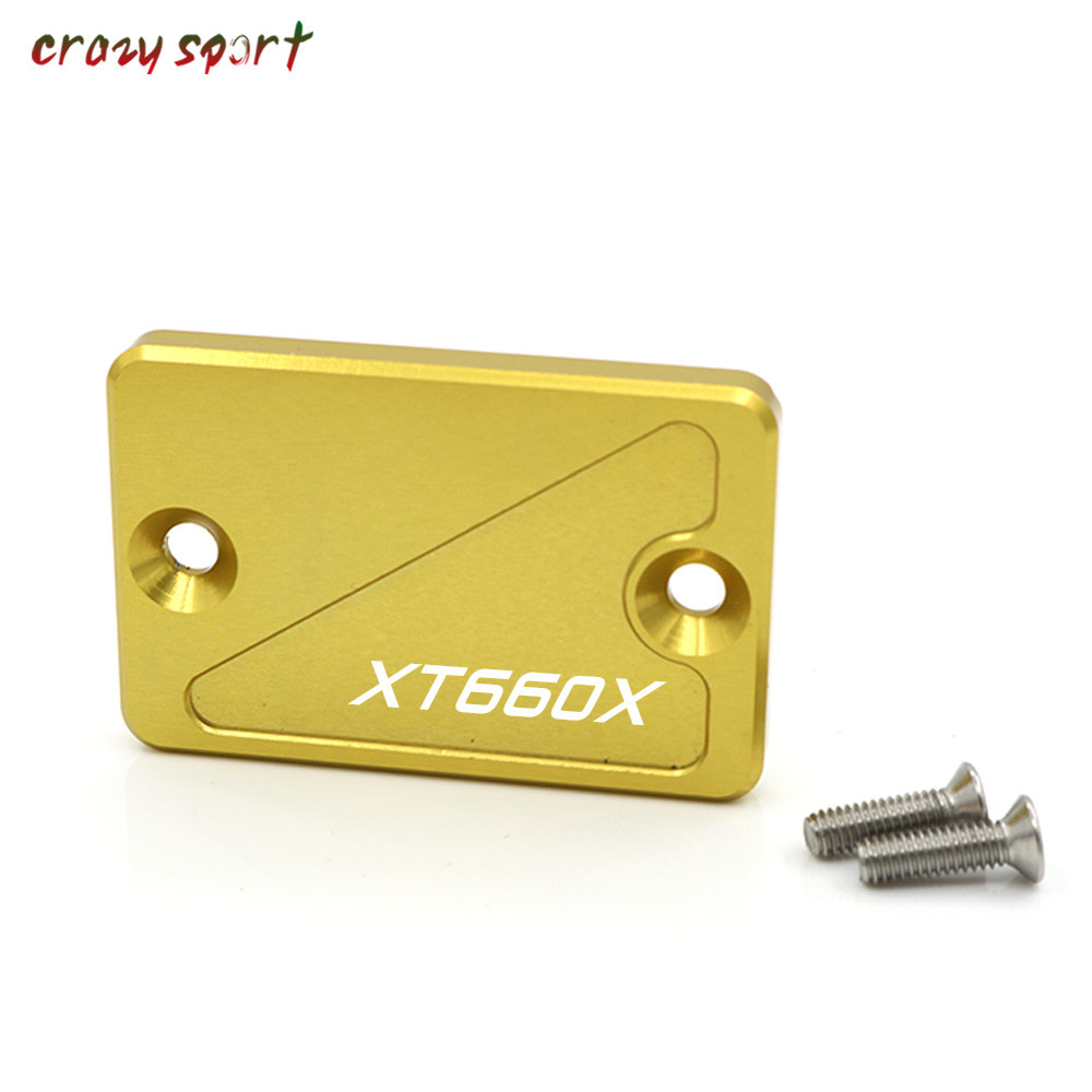 Motorcycle <font><b>Parts</b></font> For <font><b>YAMAHA</b></font> XT660X 2004-2014 2013 XT 660X <font><b>XT660</b></font> X Front Brake Fluid Reservoir Cover Cap image