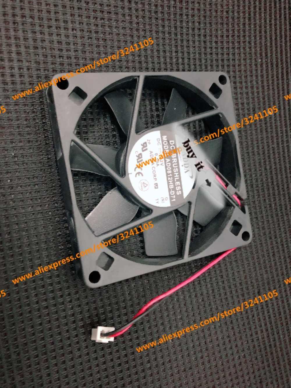 Darmowa wysyłka nowy AD0812HB-D71 0.19A DC 12V MODEL wentylatora